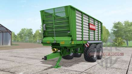 Bergmann HTW 35 lime green для Farming Simulator 2017