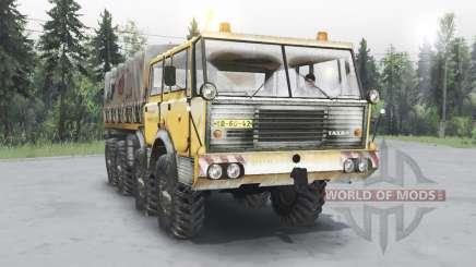 Tatra T813 TP 8x8 1967 зимний v1.4.1 для Spin Tires