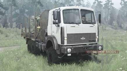 МАЗ 6317 1991 для MudRunner