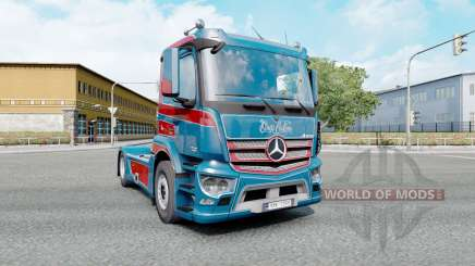 Mercedes-Benz Antos 1840 2012 Kings Customs для Euro Truck Simulator 2
