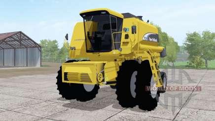 New Holland TC59 dual front wheels для Farming Simulator 2017