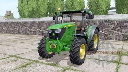 John Deere 6110R для Farming Simulator 2017