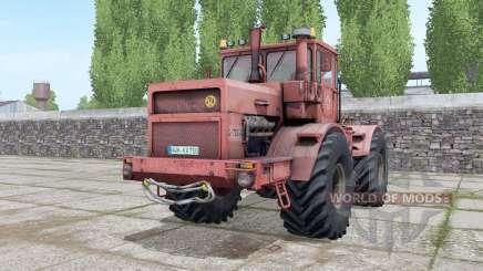 Кировец К-700А ненасыщенно-красный для Farming Simulator 2017