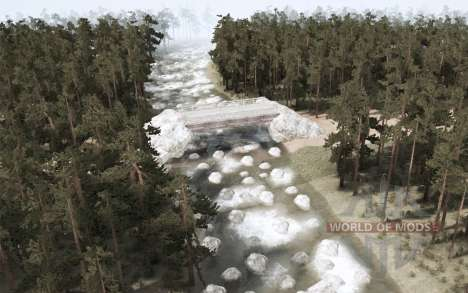 South of Nowhere для Spintires MudRunner