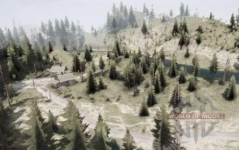 Sneak River для Spintires MudRunner
