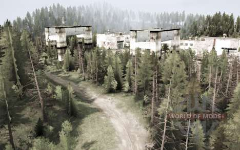 Siberian Express для Spintires MudRunner