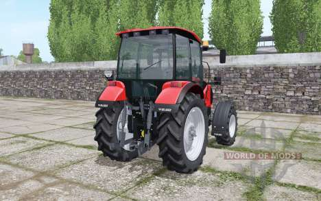 Беларус 1523 с гусеничными модулями для Farming Simulator 2017