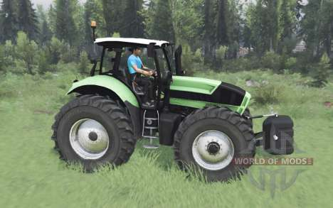 Deutz-Fᶏhr Agrotron X 720 для Spin Tires
