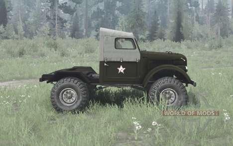 УАЗ 456 1959 для Spintires MudRunner