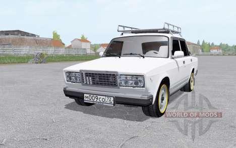 Лада Жигули (2107) для Farming Simulator 2017
