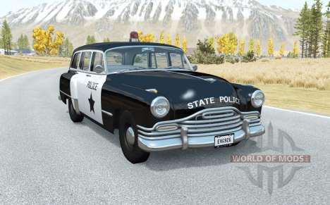 Burnside Special wagon Police для BeamNG Drive