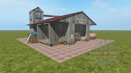 Whiskey Factory v1.1 для Farming Simulator 2017