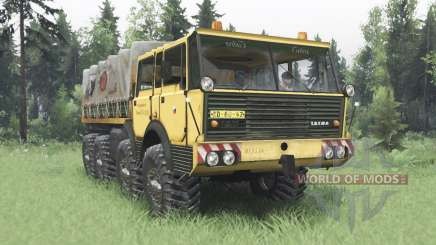 Tatra T813 TP 8x8 1967 Kings Off-Road 2 для Spin Tires