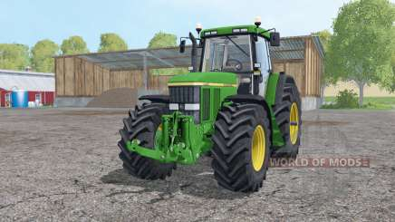 John Deere 7810 loader mounting для Farming Simulator 2015