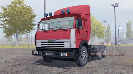 КамАЗ 54115 с прицепом ОдАЗ 9370 для Farming Simulator 2013