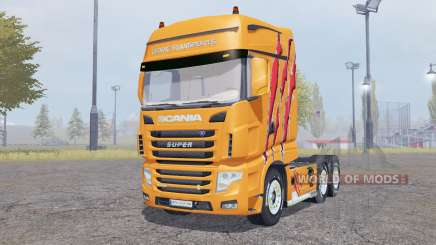 Scania R700 Evo Cedric Transports Edition для Farming Simulator 2013