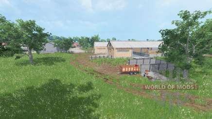 Cantal v1.2 для Farming Simulator 2015