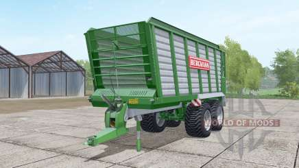 Bergmann HTW 40 dark lime green для Farming Simulator 2017