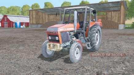 Ursus 1012 front loader для Farming Simulator 2015