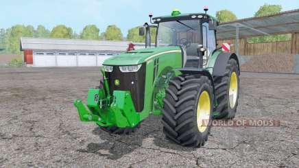John Deere 8370R animation parts для Farming Simulator 2015
