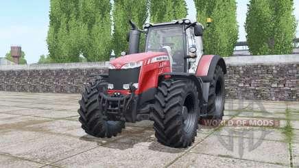 Massey Ferguson 8727 animated element для Farming Simulator 2017