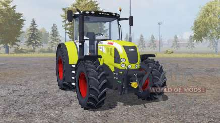 Claas Arion 640 front loader для Farming Simulator 2013