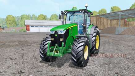 John Deere 7280R double wheels для Farming Simulator 2015