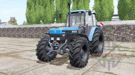 New Holland 8340 More Realistic для Farming Simulator 2017