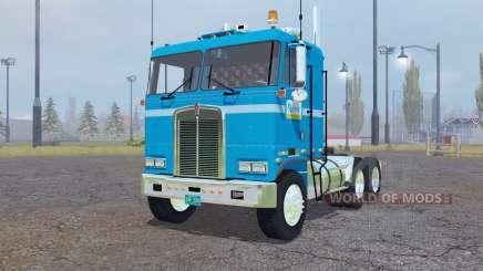 Kenworth K100 Flat Top 1978 для Farming Simulator 2013