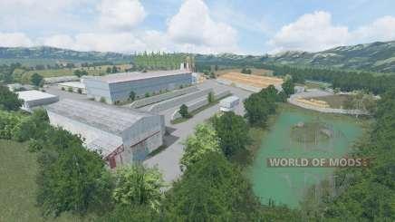 Словакия v2.0 для Farming Simulator 2015