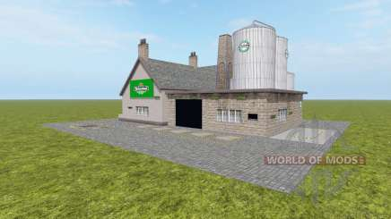Brewery Heineken для Farming Simulator 2017