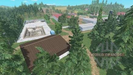 Hof Bergmann v1.1 для Farming Simulator 2015