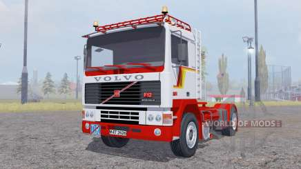 Volvo F12 Intercooler tractor для Farming Simulator 2013