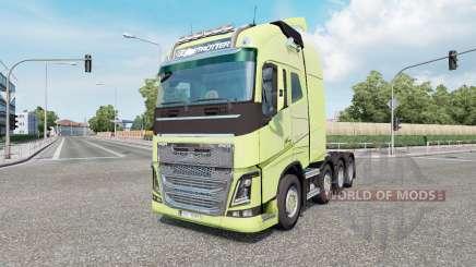 Volvo FH16 750 8x4 Globetrotter XL 2014 для Euro Truck Simulator 2