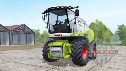 Claas Jaguar 850 dual front wheels для Farming Simulator 2017