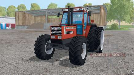 Fiat 160-90 Turbo DT dual rear wheels для Farming Simulator 2015