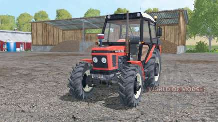 Zetor 7745 moving elements для Farming Simulator 2015