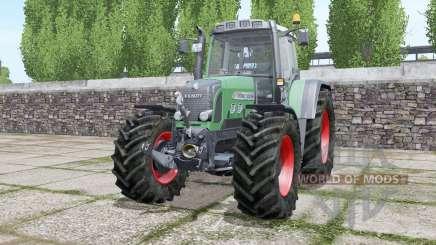 Fendt 820 Vario TMS wheels selection для Farming Simulator 2017