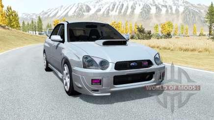 Subaru Impreza WRX STi (GDB) 2003 для BeamNG Drive