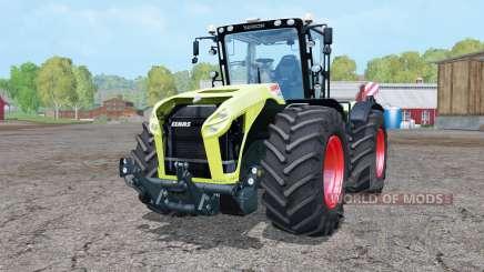 Claas Xerion 4000 Trac VC double wheels для Farming Simulator 2015