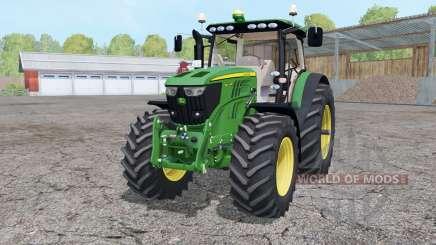 John Deere 6210R animated element для Farming Simulator 2015