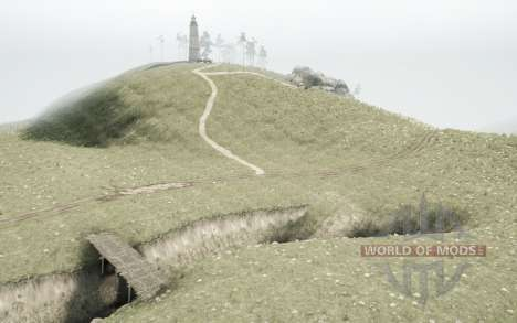 Mongolian Terrain для Spintires MudRunner