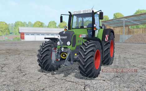 Fendt 820 Vario TMS with weight для Farming Simulator 2015