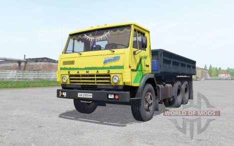КамАЗ 5320 с прицепом НефАҘ 8560 для Farming Simulator 2017