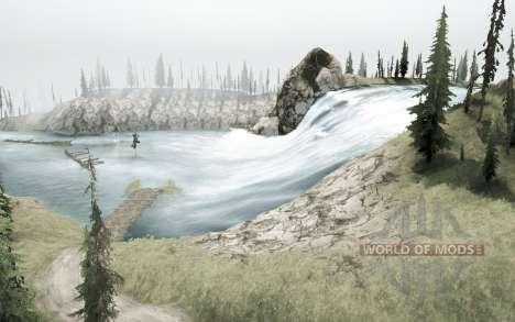 Горные реки для Spintires MudRunner