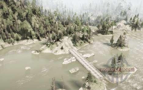 Sasquatch Mountain для Spintires MudRunner
