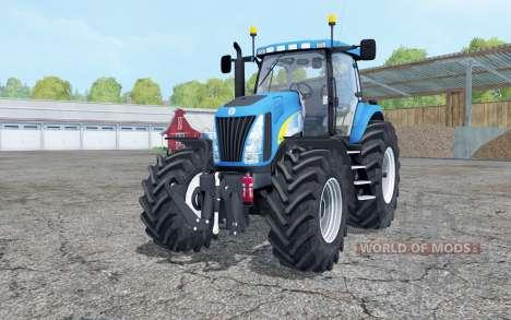 New Holland TG285 with weight для Farming Simulator 2015