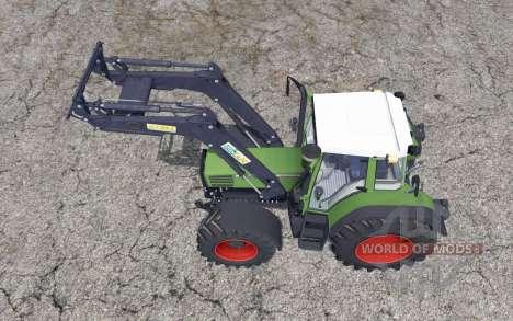 Fendt Favorit 515C Turbomatik front loader для Farming Simulator 2015