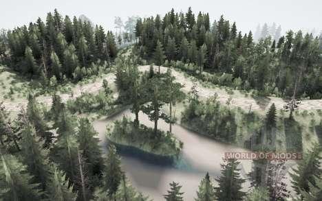 Лесистая природа для Spintires MudRunner