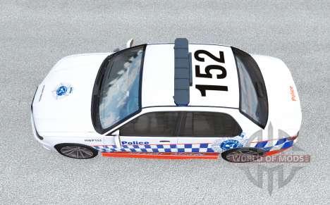 Hirochi Sunburst Australian Police v0.2.1 для BeamNG Drive